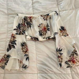 LF floral top